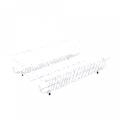 Сушилка для посуды METALTEX BIG-50 белое пластиковое покрытие (320800)