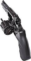 """Револьвер флобера STALKER S 3"""", 4 мм (силумін.барабан) black"""