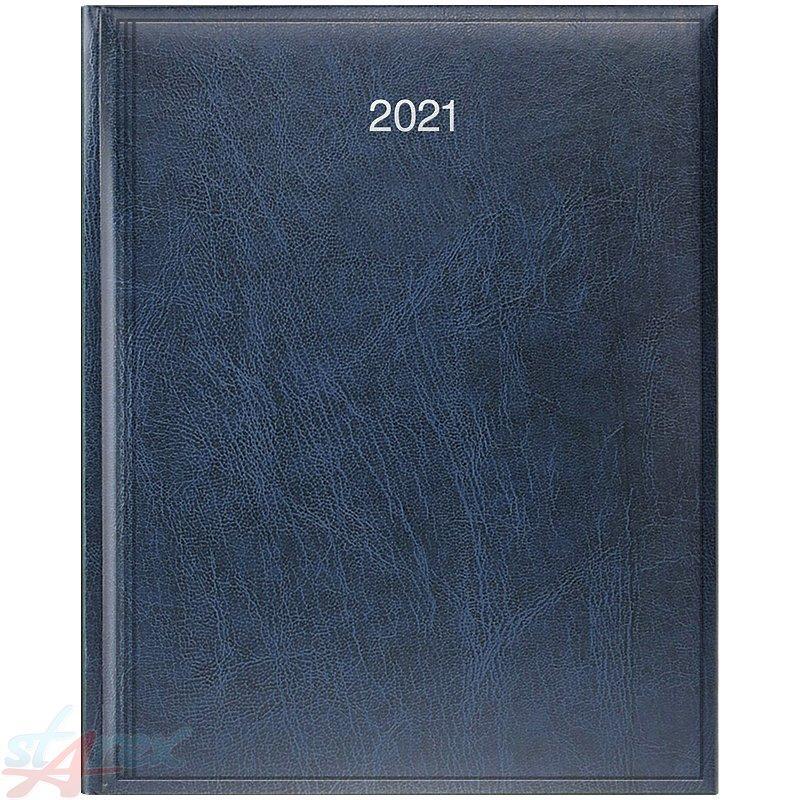 Еженедельник А4 2021 Бюро Miradur синий уценка( поврежден уголок)