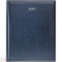 Еженедельник А4 2021 Бюро Miradur синий уценка( поврежден уголок), фото 1