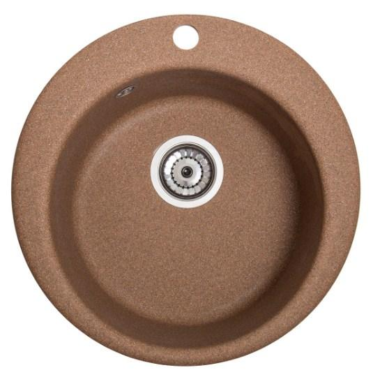 Кухонная мойка круглая Galati Eva Teracota (701)