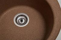 Кухонная мойка круглая Galati Eva Teracota (701), фото 3
