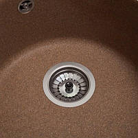 Кухонная мойка круглая Galati Eva Teracota (701), фото 5