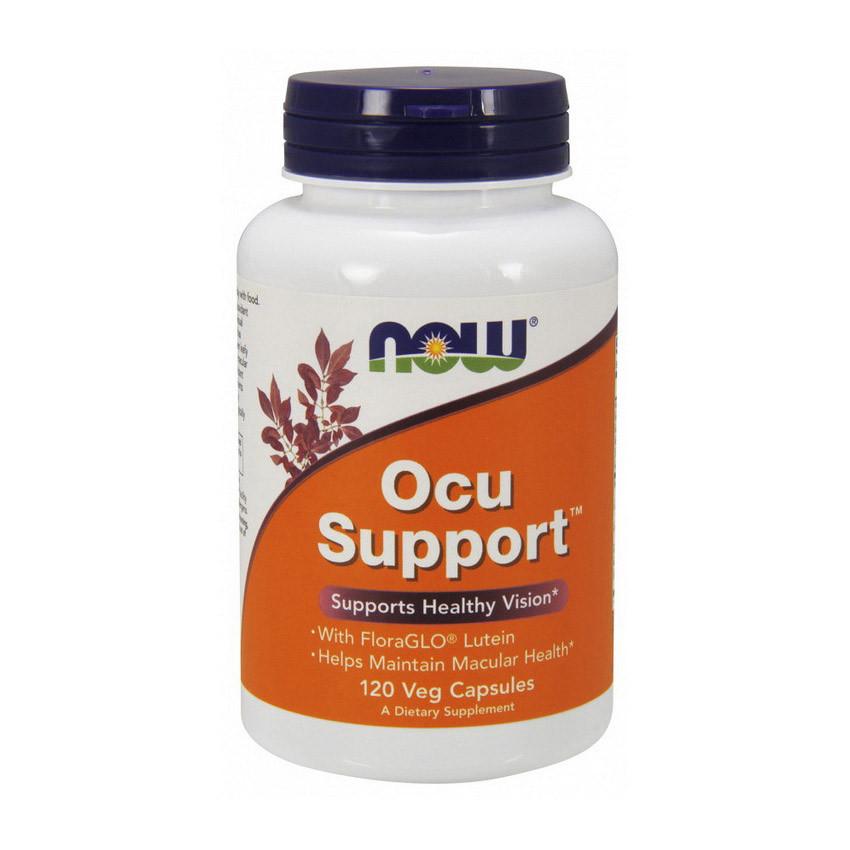 Поддержка и защита глаз Now Foods Ocu Support (120 veg caps)