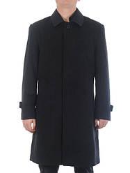 Элегантное мужское пальто из кашемира с классическим рубашечным воротником Giorgio Armani скидка