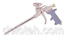 Пистолет для монтажной пены 290 мм, тефлоновое покрытие баллоноприемника, иглы MASTERTOOL 81-8675