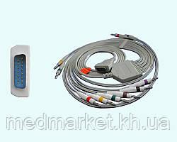 Кабель к ЭКГ МАС-500, 1200 на 10 отведений