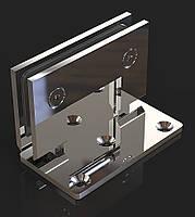 Петля для душевых кабин Стена-стекло  90°, фото 1