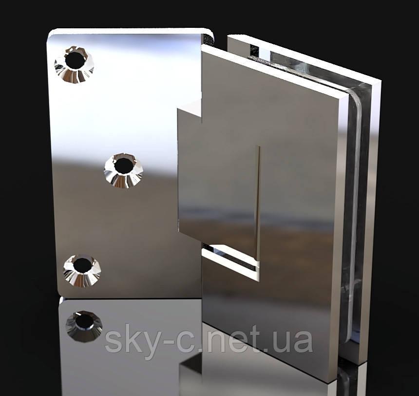 Петля для душевых кабин Стена-стекло  135°