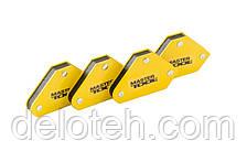 Набор магнитов для сварки 4 кг, 45°/90°/135° MASTERTOOL 81-0204