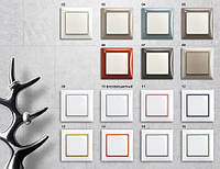 Серия Basiс55, белый цвет, ABB