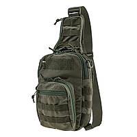 Тактическая плечевая сумка EDC M Ranger Green