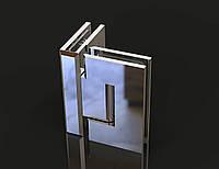 Петля для душевых кабин Стекло-стекло  90°, фото 1