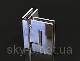 Петля для душевых кабин Стекло-стекло  90°