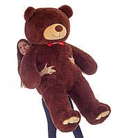 Большой плюшевый мишка Мистер Медведь 2 м (бурый) мягкая игрушка на день рождения