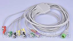 Кабель к ЭКГ Биомед (IEC) на 10 отведений
