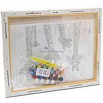 Картина по номерам Идейка «Веселые жирафы» 50x40 см (КНО4115), фото 3