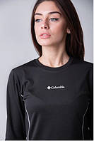 Женское Термобелье Columbia, термо коламбия, комплект, черное, штаны и кофта, теплое