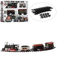 Залізниця TG 701830 R/YY 126 шлях 420 см, дим, світло, бат., кор., 63,5-44-11,5 см.