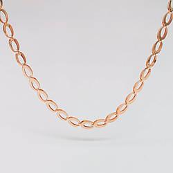 Цепочка SONATA из медицинского золота, позолота 18К, 31428                                           (60 см)