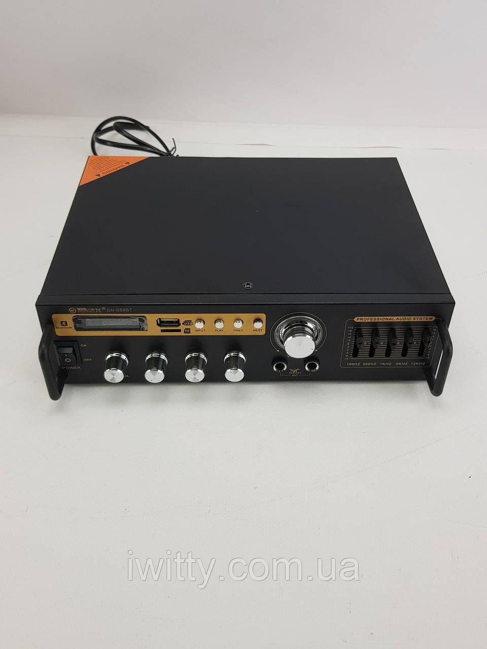 Усилитель Max SN-888BT Bluetooth + Караоке