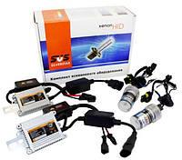Комплект ламп ксенона цоколь H1 6000К 12v блоки AC с обманкой \ КВАНТ