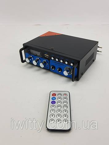 Усилитель ВМ600ВТ Стерео Аудио Bluetooth, фото 2