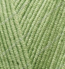 Нитки Alize Cotton Gold 385 зеленый