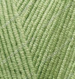 Нитки Alize Cotton Gold 385 зеленый, фото 2