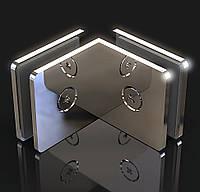 Крепление для стекла Стена-стекло  90°, фото 1