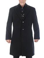 Классическое мужское пальто из кашемира с отложенным английским воротником Giorgio Armani скидка