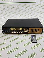 Інтегральний Підсилювач звуку UKC AV-121BT з Bluetooth