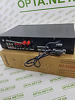 Интегральный Усилитель звука MAX AV-102BT с выходом на 5 колонок