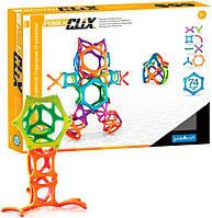 Конструктор Guidecraft PowerClix Organics 74 деталей Разноцветный (2731901)