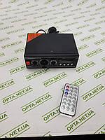 Интегральный Усилитель звука BM AUDIO BM-700BT USB Блютуз 300W+300W 2х канальный