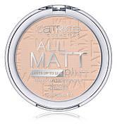 Матирующая пудра Catrice All Matt Plus – Shine Control Powder (010 Transparent), 10 г