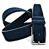 Мужской замшевый ремень Weatro nwm-4zmsh-0003 Тёмно-синий