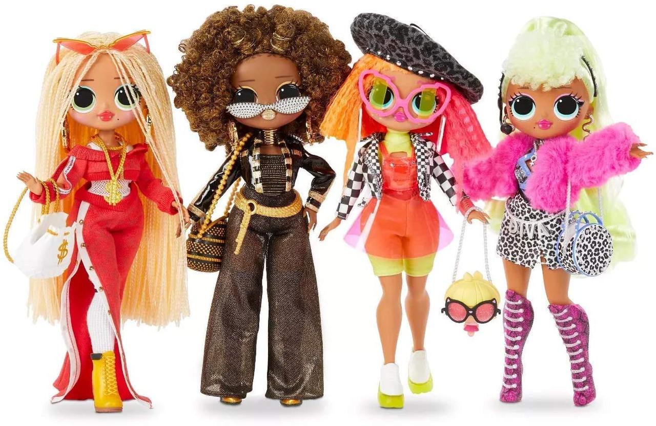 Ляльки ЛОЛ ОМГ Леді DJ Корольова Бджілка Леді Дива Леді Неон L.O.L. O.M.G. Sweg Royal Bee Lady Diva