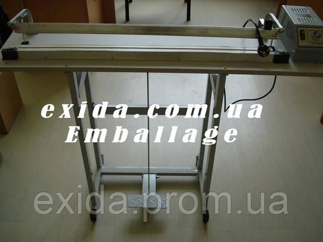 Запайщик импульсный напольный 600мм - Торгово-промышленная компания Exida.com.ua (093) 636-74-74  в Киеве