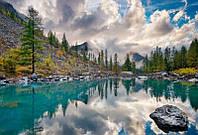 Фотообои 3D 368x254 см Алтайские горы WM009P8