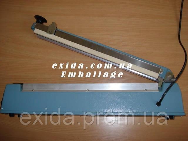 Запайщик импульсный настольный 400мм с ножом - Торгово-промышленная компания Exida.com.ua (093) 636-74-74  в Киеве