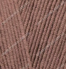Нитки Alize Cotton Gold 493 коричневый, фото 2