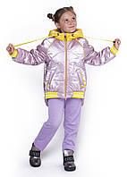 """Демісезонна курточка для дівчинки """"Монклер"""","""