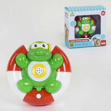Игрушка в ванную для малышей Игрушечная черепашка которая плавает работает от батареек