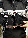 Кросівки чоловічі Nike LeBron 16 в стилі найк Леброн Чорні (Репліка ААА+), фото 3