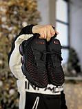Кросівки чоловічі Nike LeBron 16 в стилі найк Леброн Чорні (Репліка ААА+), фото 4