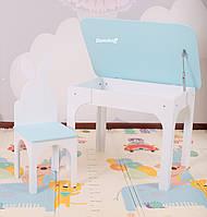 Комплект стол и стул зайчик