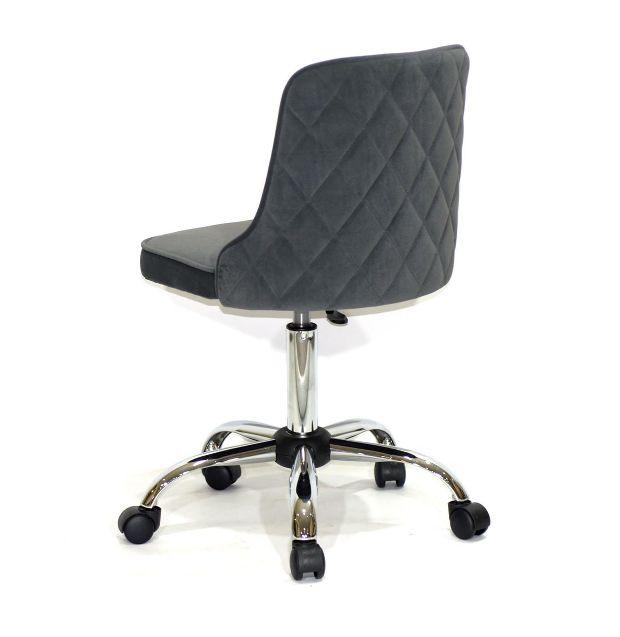 Зеленое бархатное кресло со стильной стеганной спинкой ADAM MODERN BASE