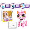 """Интерактивная игрушка """"Смышлённый питомец: котик"""" (розовый) DISON (E5599-9)"""