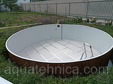Бассейн каркасный Azuro VAR 400 DL 3,6 x 1,1 м (без плёнки)